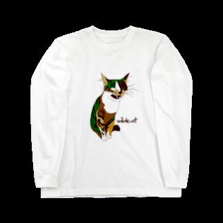 Wild cat ロングスリーブTシャツ