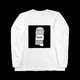 broscheのsocksロングスリーブTシャツ