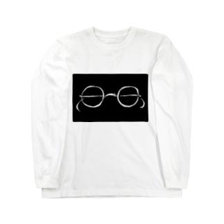 glasses ロングスリーブTシャツ