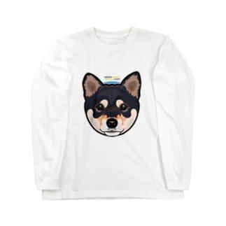Kuroshiba-001 ロングスリーブTシャツ