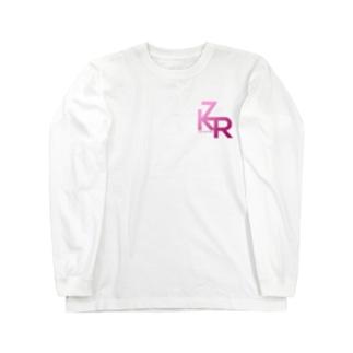 ZKR Tシャツ(ロゴピンクver.) ロングスリーブTシャツ