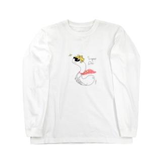 スーパーウジくん ロングスリーブTシャツ