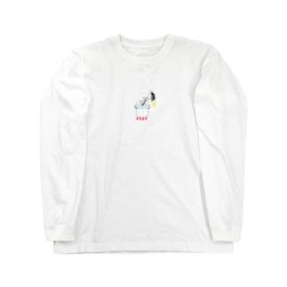 ウジちゃんのスープ ロングスリーブTシャツ