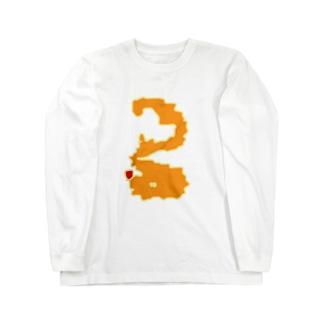 オレンジノナニカナ ロングスリーブTシャツ