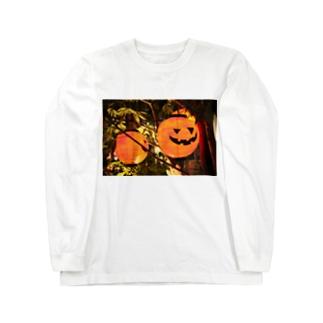 おばけ提灯👻 ロングスリーブTシャツ