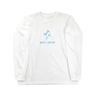 Miku Emori スタッフアパレル ロングスリーブTシャツ