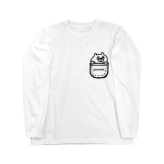 ポケット ロングスリーブTシャツ