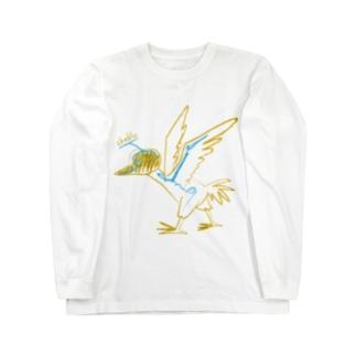 cheb's bird ロングスリーブTシャツ