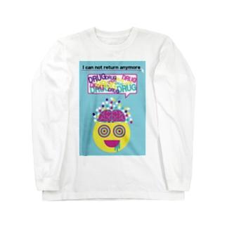 DRUG!!!! ロングスリーブTシャツ