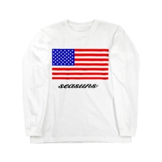 アメリカン🇺🇸 ロングスリーブTシャツ