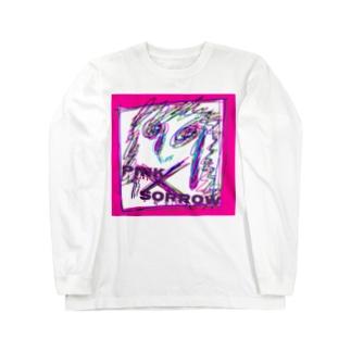Pink Sorrow ロングスリーブTシャツ