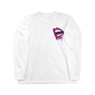 meltdown sexy lip💋 ロングスリーブTシャツ