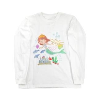 人魚の海 ロングスリーブTシャツ