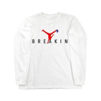 BREAKIN ロングスリーブTシャツ