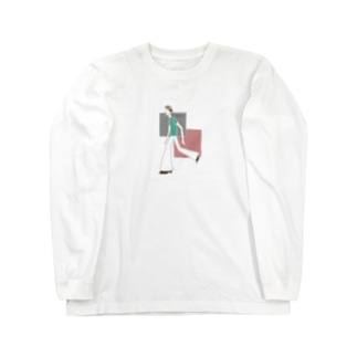 フレアパンツ ロングスリーブTシャツ