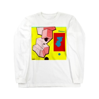 缶風景090601 ロングスリーブTシャツ