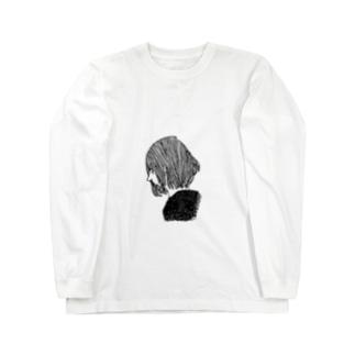 Yoko-gao ロングスリーブTシャツ