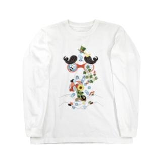 恵みの鼻水 ロングスリーブTシャツ
