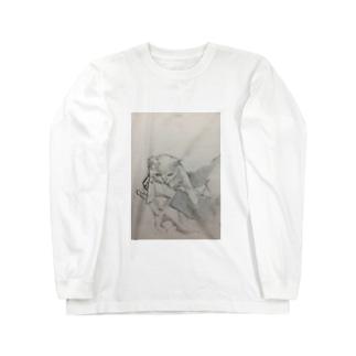 手乗り子猫 ロングスリーブTシャツ