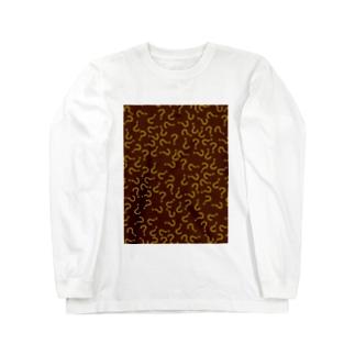 はてな地獄 ロングスリーブTシャツ