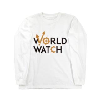 WORLD WATCH ロングスリーブTシャツ