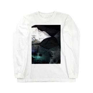 大きな影 ロングスリーブTシャツ