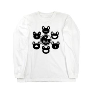 カエルの合唱団 ロングスリーブTシャツ