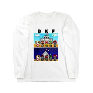 BK ちる王国 ロングスリーブTシャツ