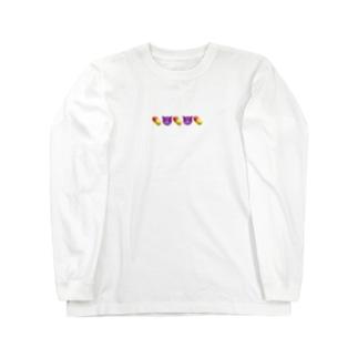 Kcy絵文字Tシャツ   ロングスリーブTシャツ