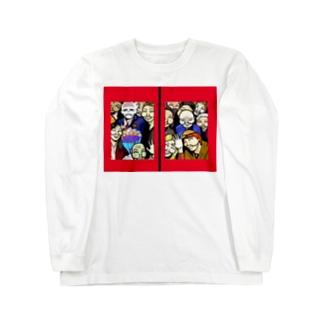 Japanese of the dead ロングスリーブTシャツ