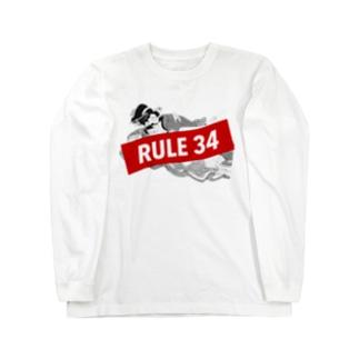 Rule 34 ロングスリーブTシャツ