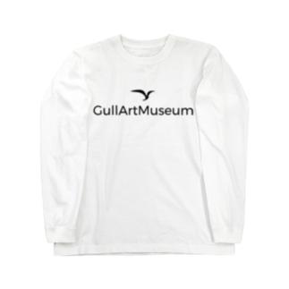 GullArtMuseum ロゴ ロングスリーブTシャツ