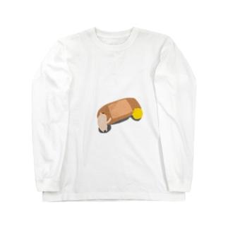 ばんそうこう。 ロングスリーブTシャツ
