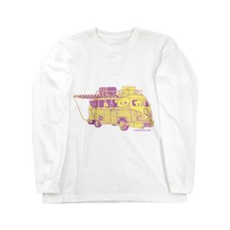 ドライブおやまくま ロングスリーブTシャツ