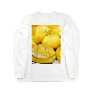 シュークリーム作ってみた。 ロングスリーブTシャツ