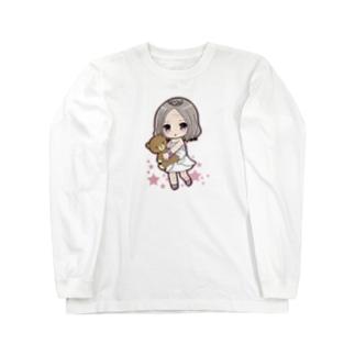 んまアバター♡ ロングスリーブTシャツ