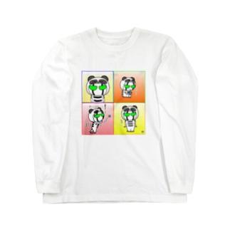 BK ぱんだバージョン ロングスリーブTシャツ