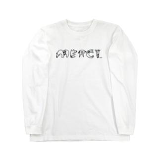 merci tamalphabets ロングスリーブTシャツ