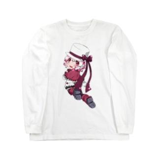 白野おぷち ロングスリーブTシャツ