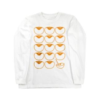 柿 ロングスリーブTシャツ