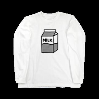 nikoの牛乳 ロングスリーブTシャツ