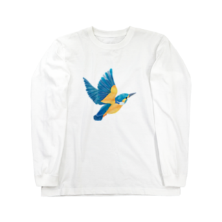 ヒフミ ヨイのカワセミ ロングスリーブTシャツ