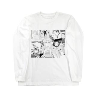 シネマの世界 ロングスリーブTシャツ