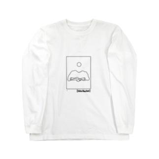 [hito no youna hu:kei no youna] ロングスリーブTシャツ