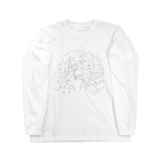 煙草 ロングスリーブTシャツ