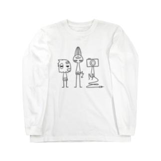 トリオ ロングスリーブTシャツ