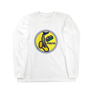 パ紋No.3067 mario ロングスリーブTシャツ