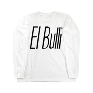 エルブリ ブラック×ホワイト ロングスリーブTシャツ