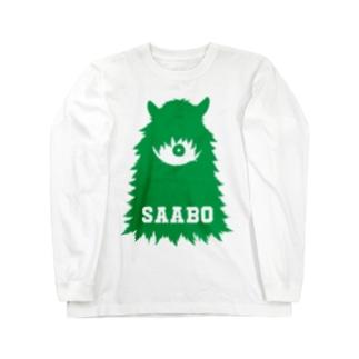 SAABO_FUR_ForestMan_L_G ロングスリーブTシャツ