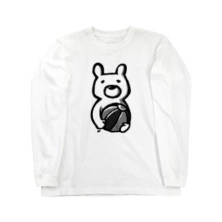 せつなグマ ロングスリーブTシャツ